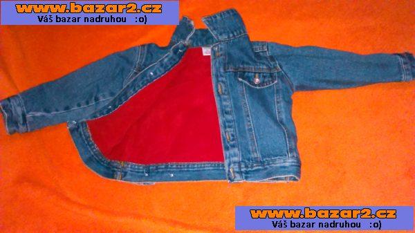 e92c11de9bd8 prodám džínovou bundičku na jaro je moc pěkná