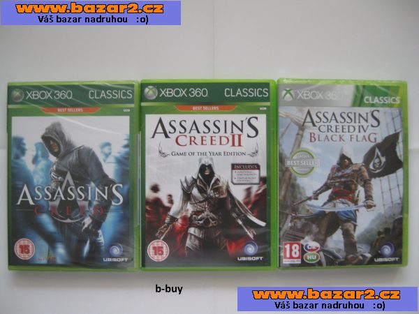 Hry na XBOX 360 - Assassin