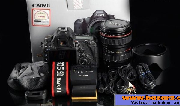 Canon EOS 5D Mark III, Camera