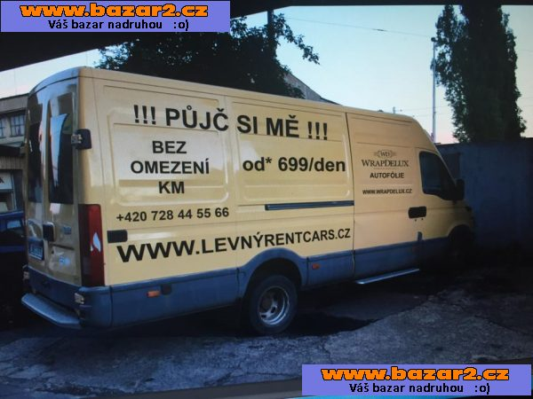 Pronajem IVECO DAILY MAXI/S OCTAVIA II !!no limit /KM!!!