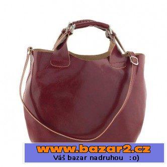 Dámská kabelka Ore 10, kožená, červená, Všechny lokality, bazar ...