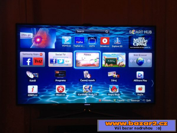 73968b5d7 Samsung TV UE46ES7000, Praha 10, bazar, bazoš