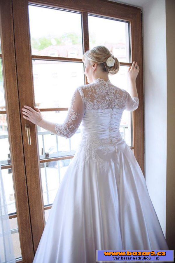87145c274224 Prodám nádherné svatební šaty ...