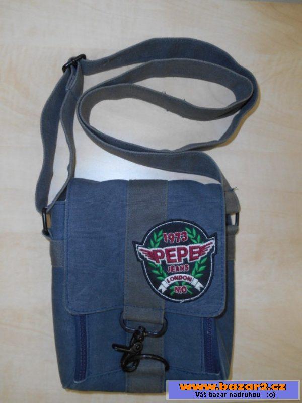 Pánská taška Pepe Jeans. Taška je z textilního materiálu 36723518cc4