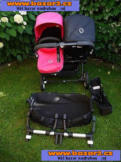 Bugaboo Donkey Duo oder Twin all black edition