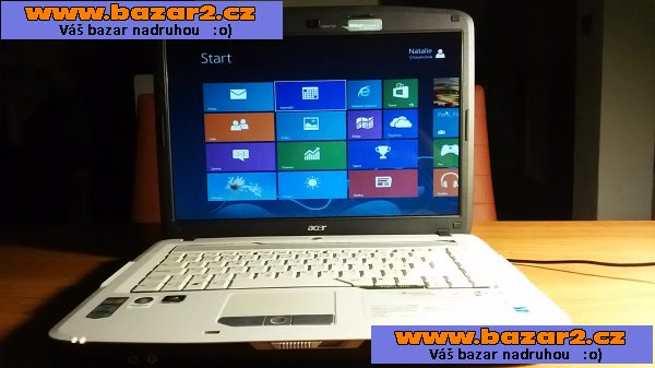 ACER ASPIRE 5520, Windows 8