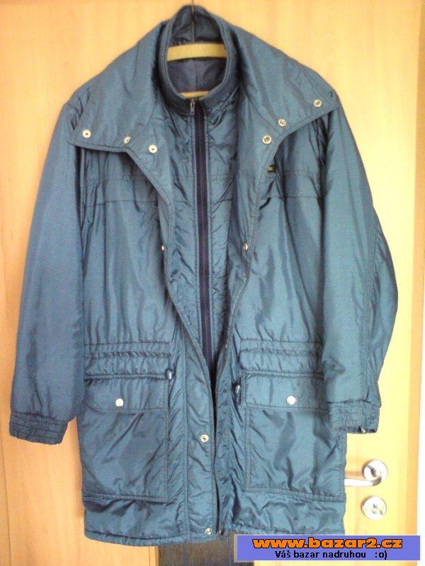 255d95aa85 Modrá dlouhá zimní bunda 150 Kč . Prodám pánskou zimní bundu