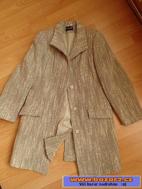 Dámský zimní kabát prodám nový kabát světle béžové barvy 3075023bb0