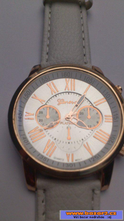Dámské hodinky Geneva - kovové 9d2f6f0b5cf