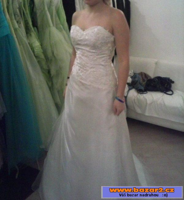 06b55d5a842b Plesové šaty se zdobeným korzetem