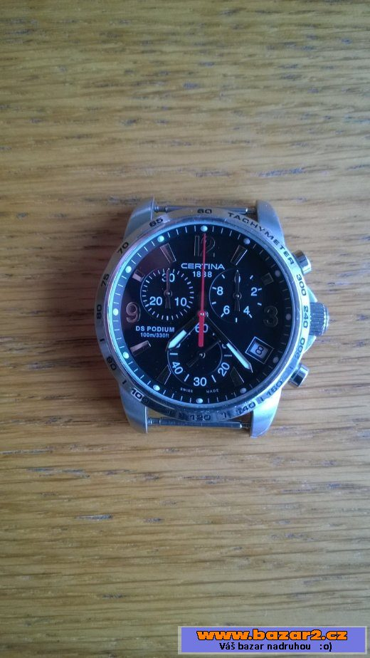 3adc8b6f6 Švýcarské hodinky Certina DS Podium, Praha - východ, bazar, bazoš