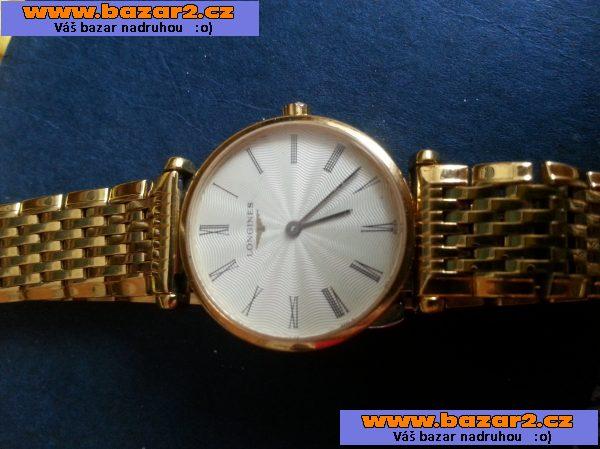 Silně pozlacené dámské hodinky Longines. Jsou plně funkční spolu s  certifikátem 9bfdcebe6b3