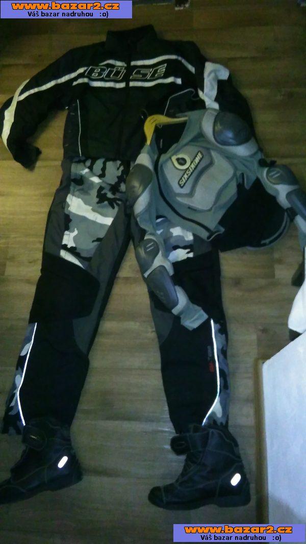 36af5200a11 Prodam kalhoty a bundu na moto + paterak textil.vel 3XL58 cena 2000kc