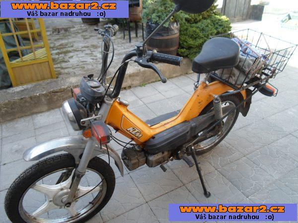 5edb4e3754a prodám moped ktm squadra 4rychlostní nové pneu
