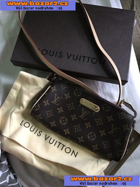 6055e8c8c Originální Louis Vuitton Eva kabelka Monogram ( mám fakturu, papírové tašky,  krabice a dustbag) Super stav! Zakoupen v Srpnu 2015 v USA.