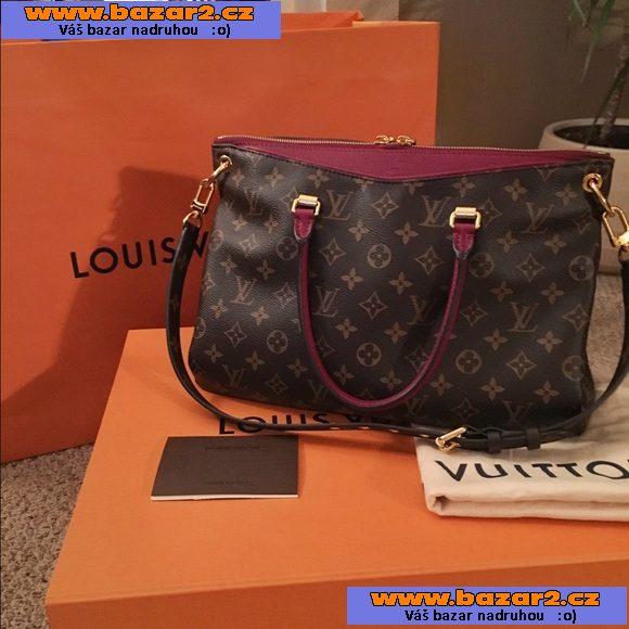 Originální Louis Vuitton Pallas kabelka ( Model M41599 a98afaaf6e9