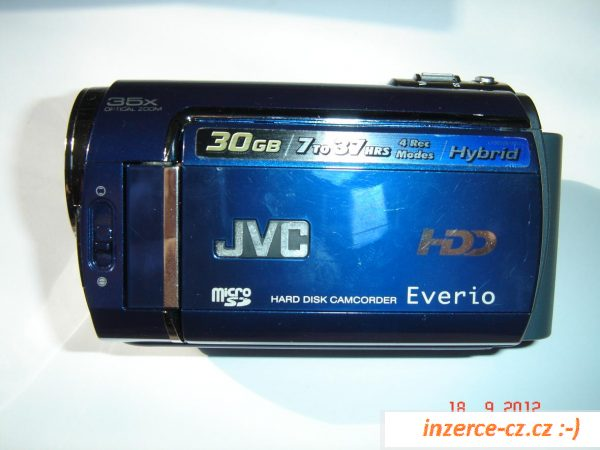 Kamera JVC model GZ-MG330AE