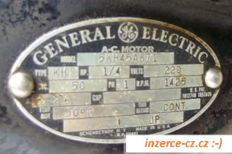 Elektromotor General Electric USA