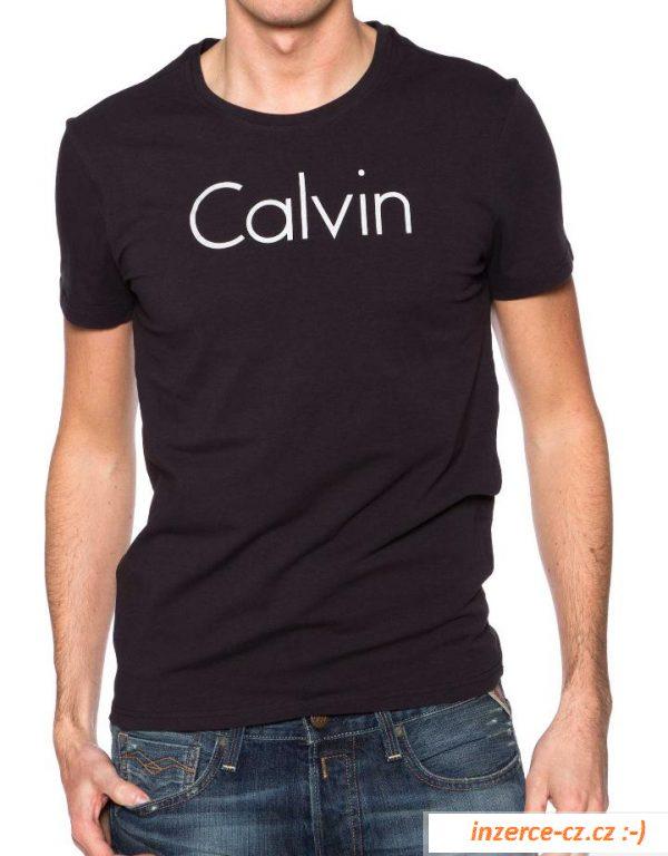 86e3d5d4e Pánské tričko Calvin Klein černé, Praha 1, bazar, bazoš