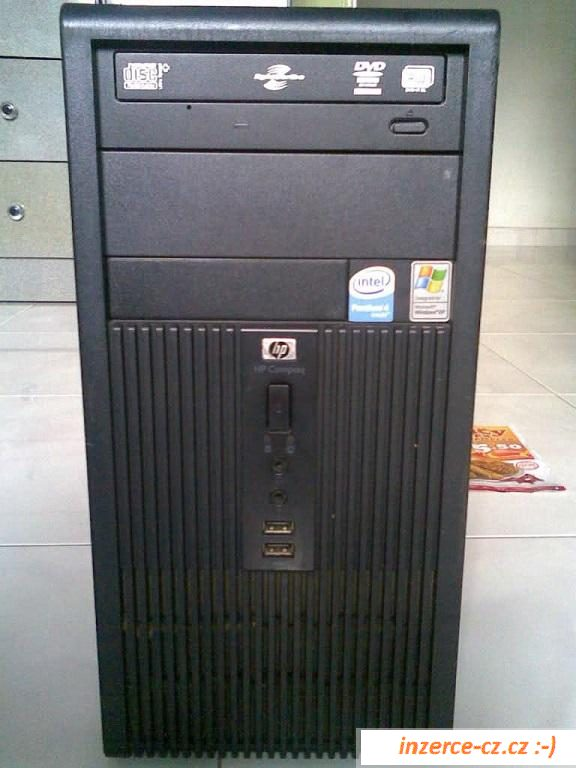 HP Compaq dx200 dvoujádro, Win XP