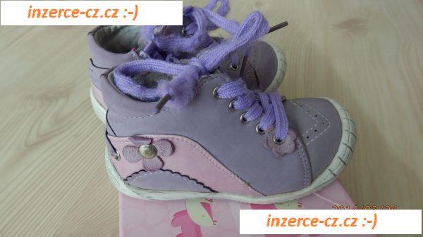 23 Jarní  Podzimní boty Nelli Blu 583a3899b7