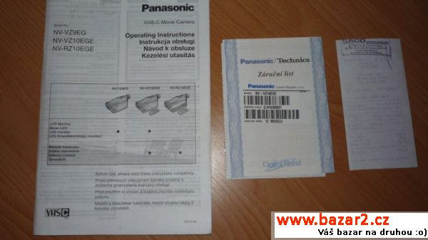 Panasonic NV-VZ10EGE