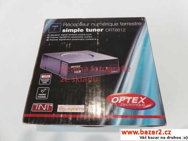DVB-T přijímač set-top box Optex ORT 8812