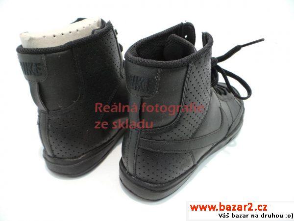 ... černé Dámské kotníkové tenisky Nike f9e22eec761