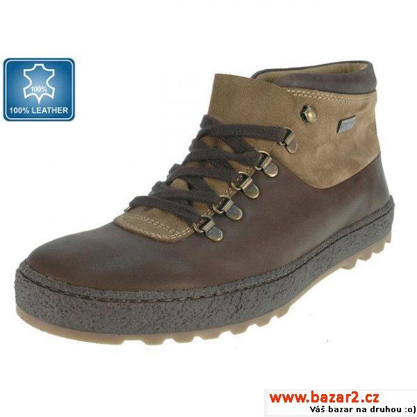 V těchto pěkných hnědých botách se vám to může splnit. Pohodové kotníčkové  boty jsou vyrobeny z kvalitní kůže a zavazují se na látkové tkaničky. 03d4dc541fc