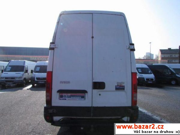 Iveco Daily, 35S17 supermaxi mrazák