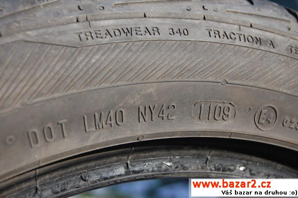 225/50 R 17 Barum, 4ks, vzorek 6mm