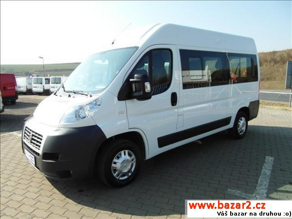 Fiat Ducato, 2.3 9 míst 150ps!!2x klima TOP