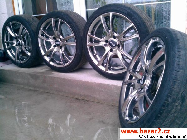 Brock RC11 SLC 7,5x17 4x108 CHROM