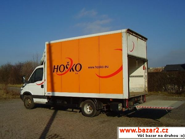 Iveco Daily, 50C14 HYD.ČELO 8palet do 3.5t