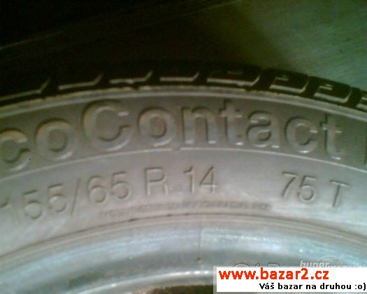 155/65 R 14 75T  Continental Eco C.