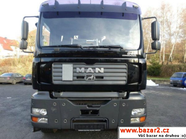 MAN 6x4 kovošrot+Jonsered