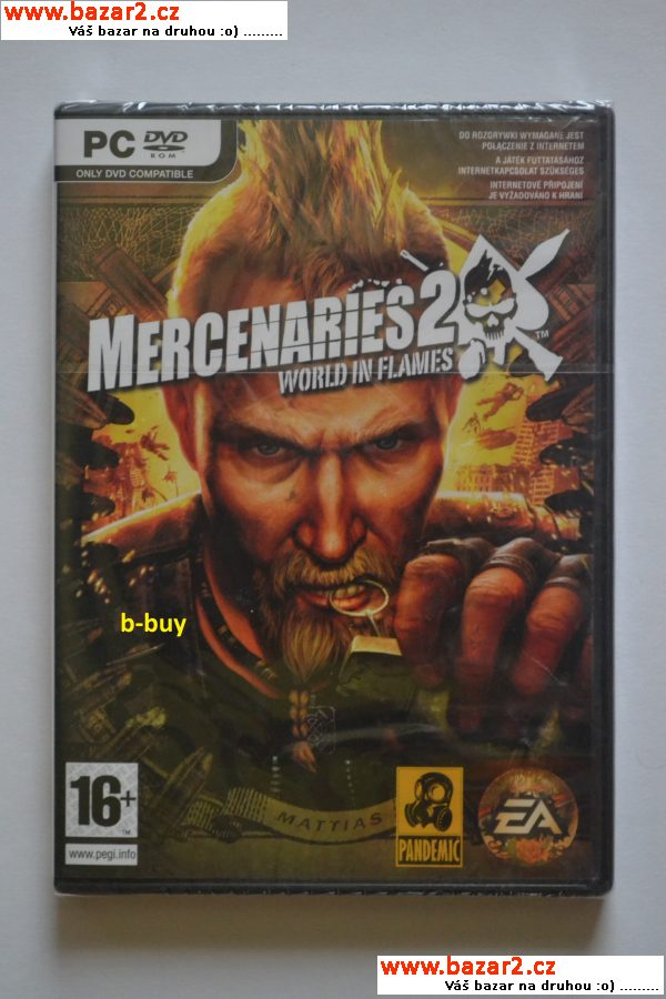 Hra PC - Mercenaries 2 - nové
